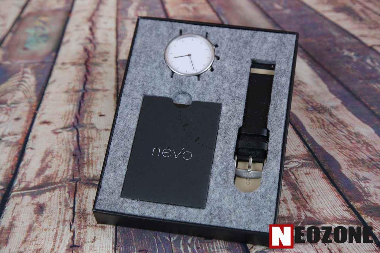 TEST NEVO, la montre connectée à la Française !