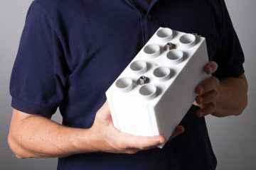 SpeedyBrick, le LEGO géant pour construire des maisons