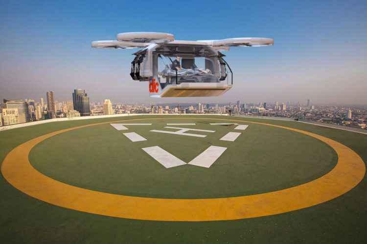 ArgoDesign dévoile un impressionnant concept de drone ambulance