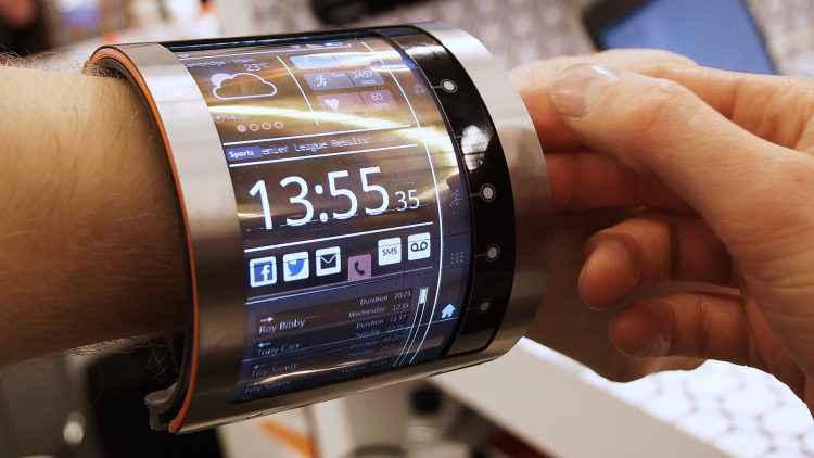 FlexEnable, un bracelet doté d'un écran 4,7 pouces complètement flexible