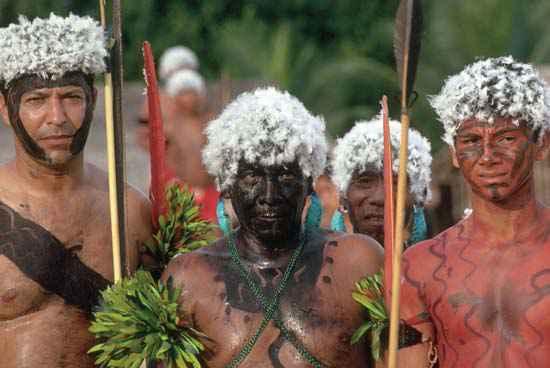 Tribu des Yanomani
