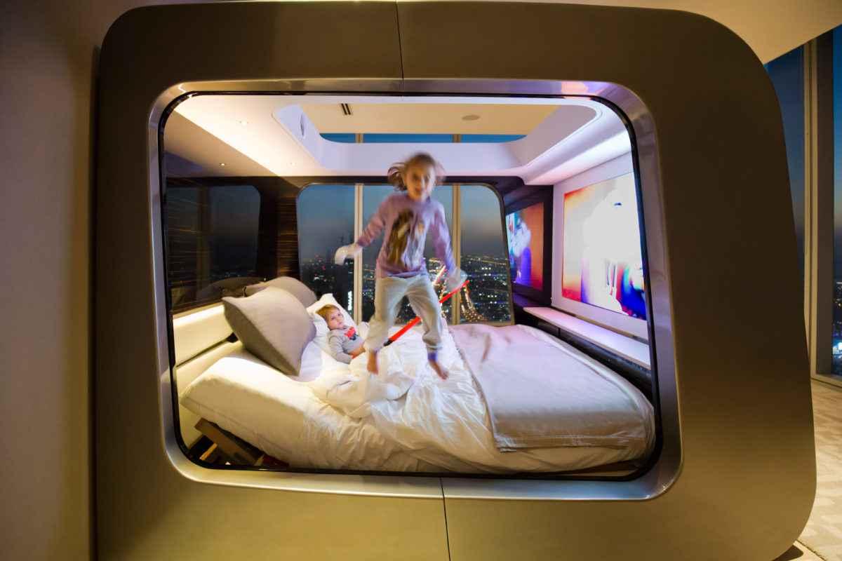Hi-Can, le lit de luxe home cinéma