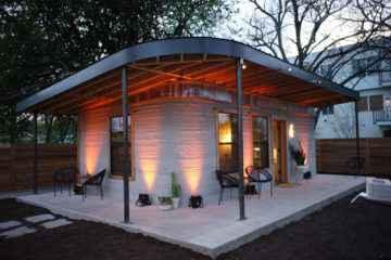 ICON, une maison de 60m² imprimée en 3D qui ne coûtera que 3250€ à construire