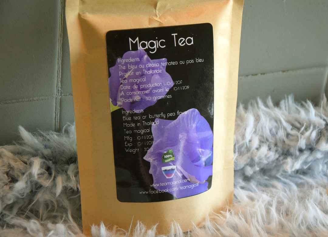 Insolite : Magic Tea, du thé qui change de couleur   NeozOne