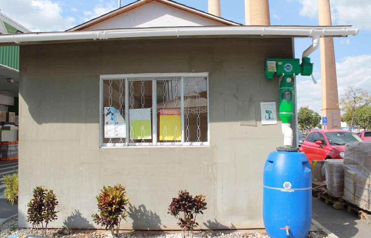 Filtre de toit eau potable