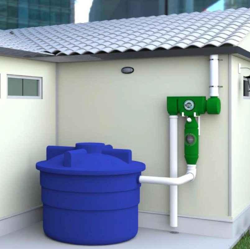 filtre à eau de toit