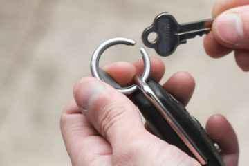 Orbitkey Ring réinvente le porte-clés