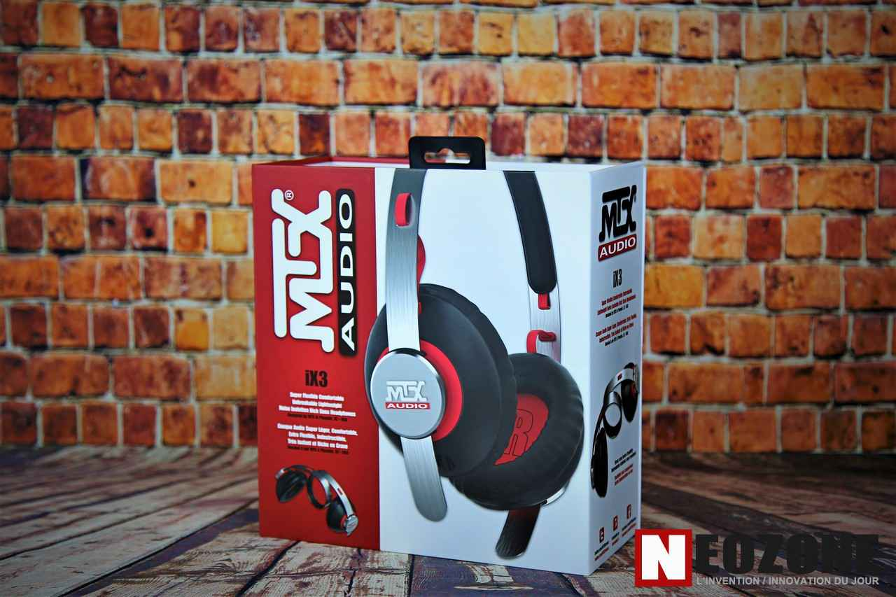 Test Casque Audio Mtx Ix3 En Avant Les Basses Neozone