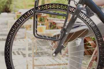 Big Rep, pneu increvable imprimée en 3D
