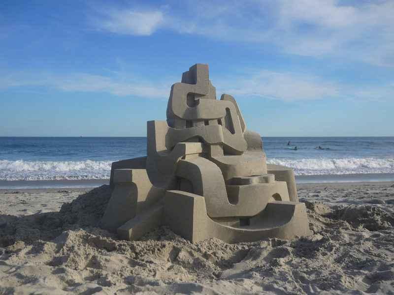 Quand un architecte construit des châteaux de sable