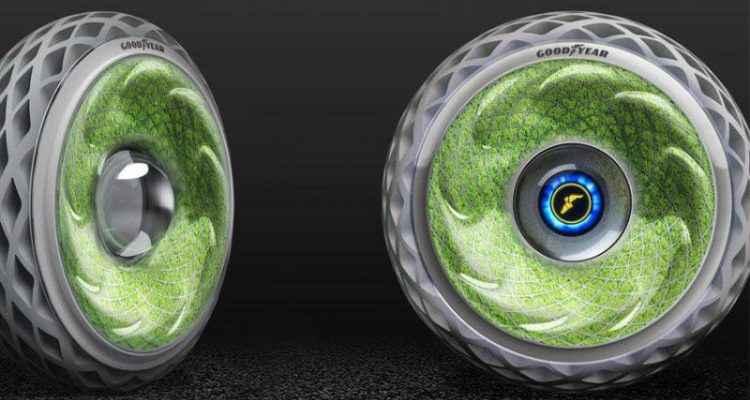 Goodyear Oxygene : Pneu en mousse végétale
