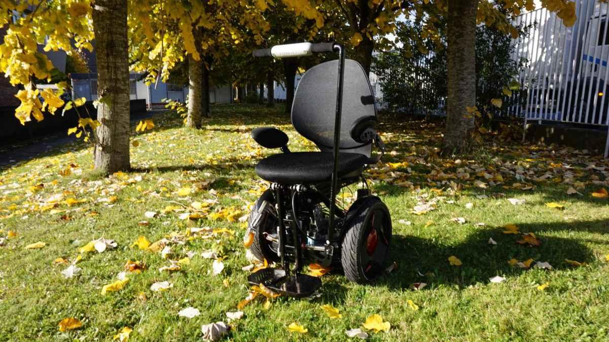 Gyrolift, le fauteuil roulant du futur