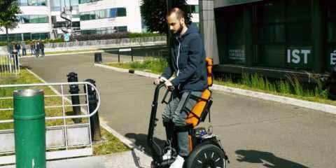 Gyrolift, fauteuil roulant du futur