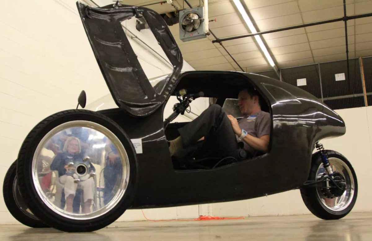 Rath Racer, vélo-mobile électrique