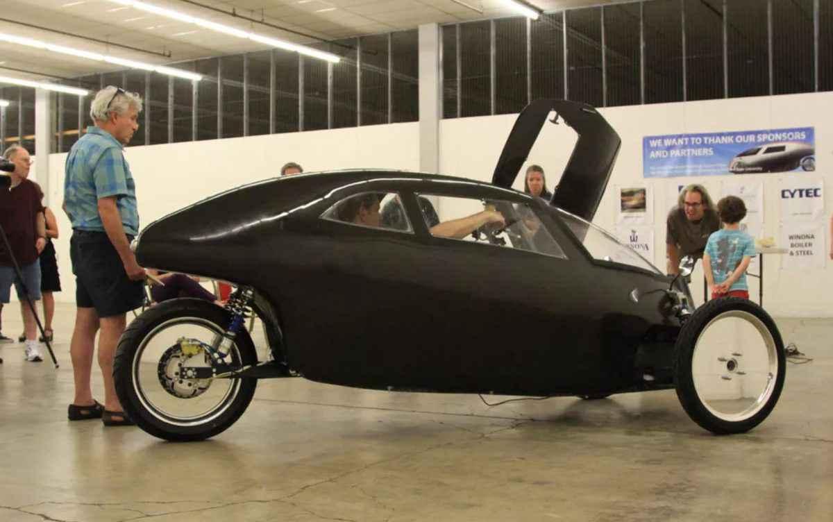 Rath Racer, vélomobile électrique