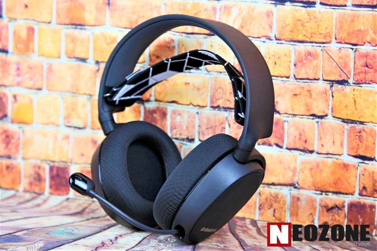 TEST : Casque Gaming 7.1 Arctis 3 \'Bluetooth\'