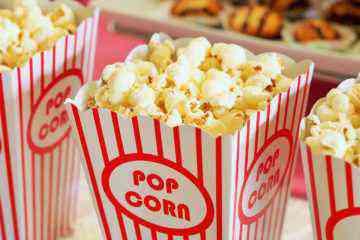 cinéma, popcorn