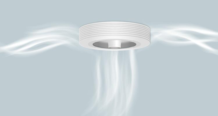 exhale le ventilateur connect sans p le neozone. Black Bedroom Furniture Sets. Home Design Ideas