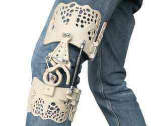 BioNEEK, un exosquelette imprimé en 3D pour réduire les douleurs du genou
