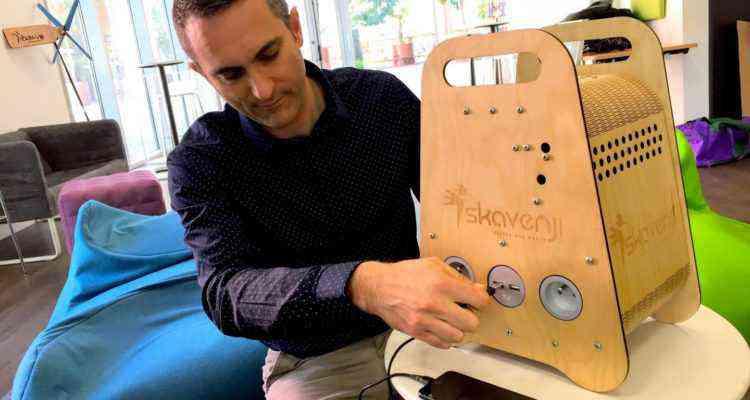 Skavenji, la box pour produire de l'électricité gratuitement