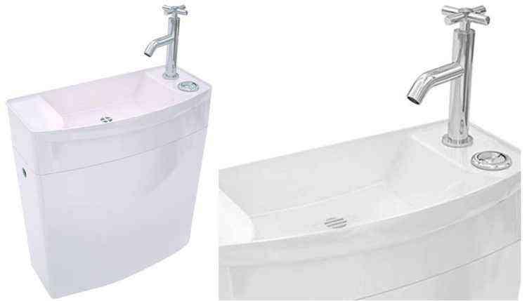 wc lavabo lave main intégré