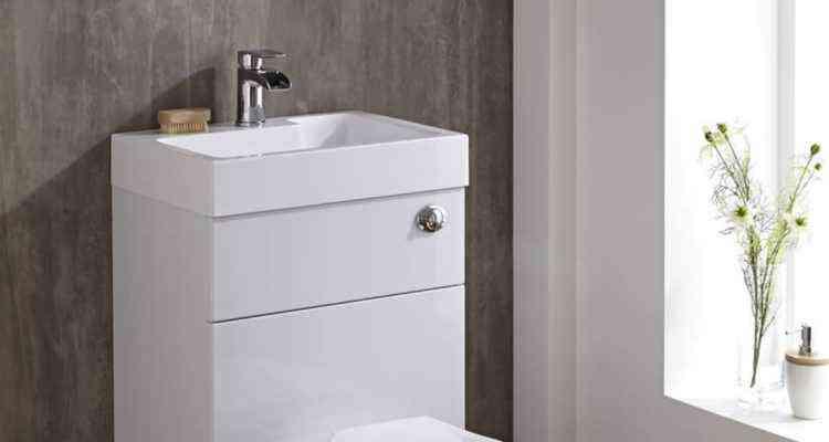 les toilettes avec lavabo int gr une solution conomique et cologique neozone. Black Bedroom Furniture Sets. Home Design Ideas