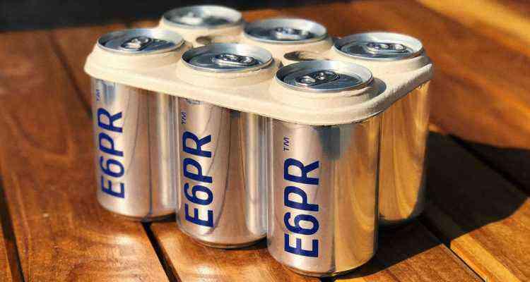 emballage bière comestible