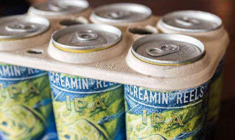 emballage bière coméstible