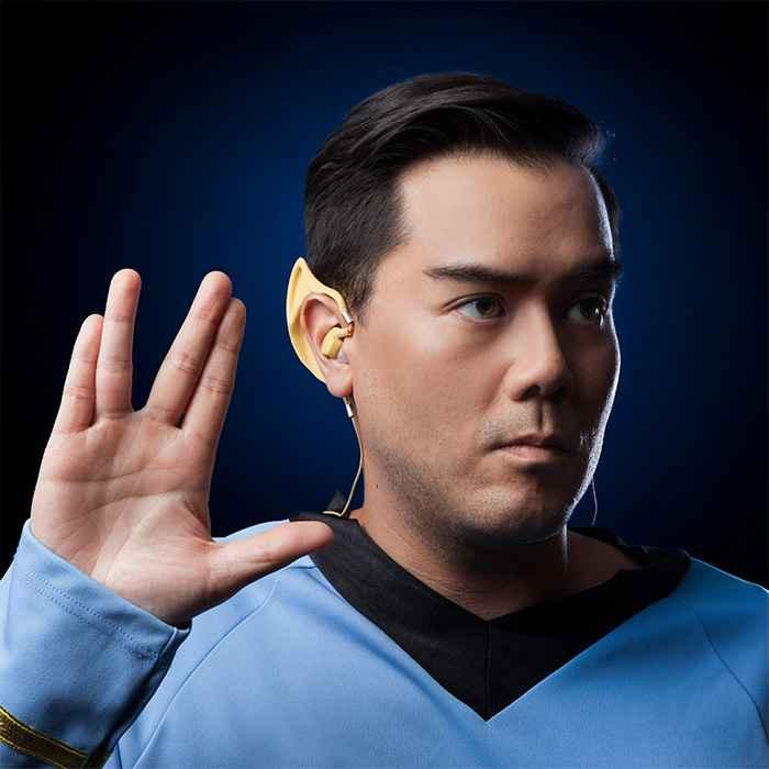 Star Trek Wireless Vulcan Earbuds : le casque sans fil en forme d'oreilles de Spock