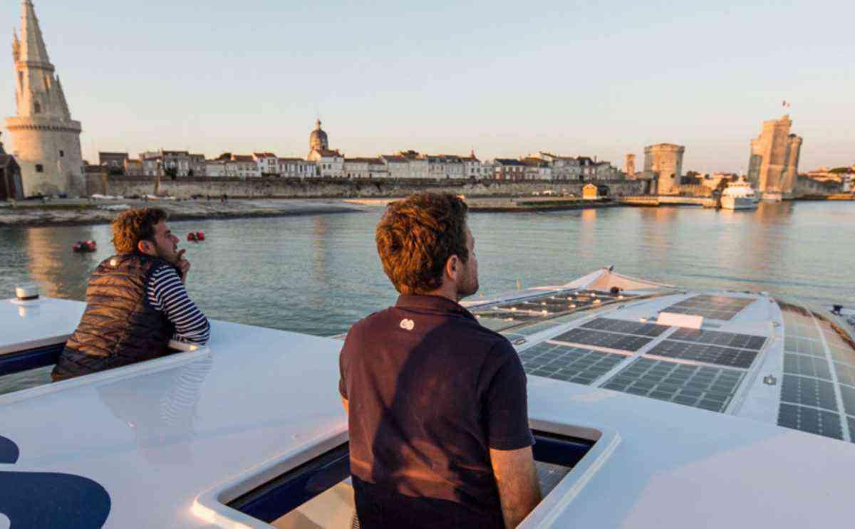 Energy Observer, un navire à hydrogène qui va naviguer pendant 6 ans en produisant lui-même son énergie