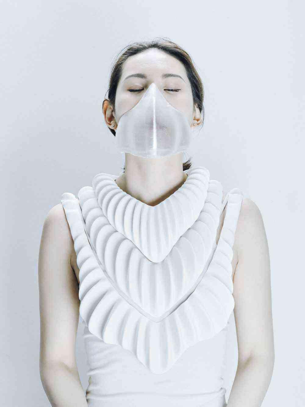 Amphibio, le masque à branchies pour respirer sous l'eau