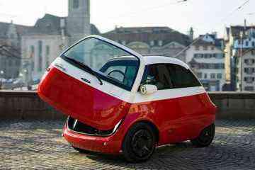 Microlino, la voiture électrique qui se recharge en 4h sur n'importe quelle prise secteur