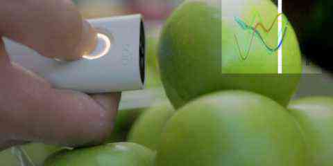 Scan Eat, le scanner qui détecte les pesticides et polluants dans les aliments