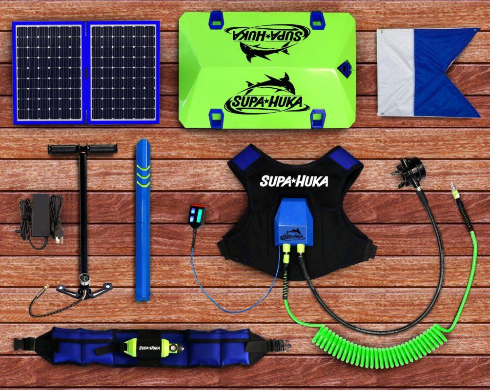Supa Huka, un kit de plongée sous-marine pour rester immergé pendant 2 heures, sans aucune bouteille d'oxygène