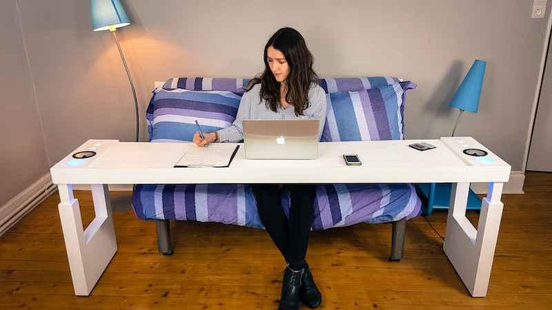 Delicieux Bedchill : Une Impressionnante Table De Lit Multifonction ...