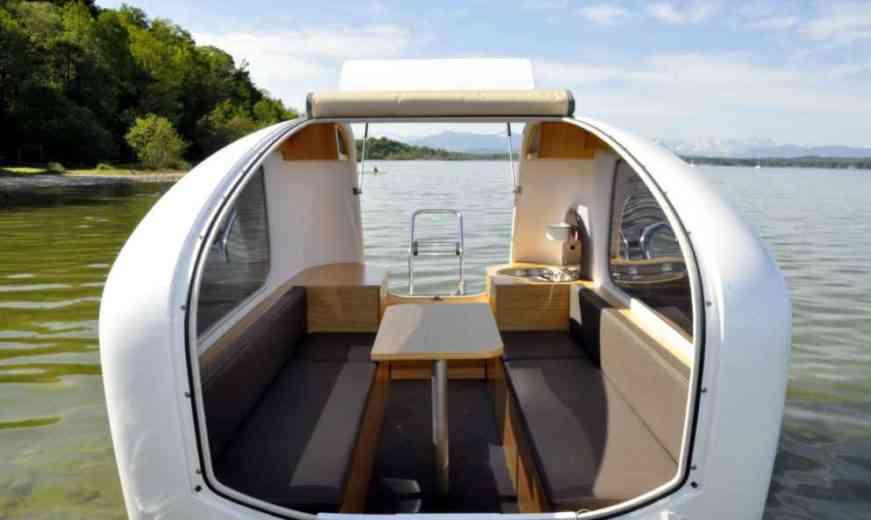 Sealander «Schwimmcaravan», la caravane amphibie