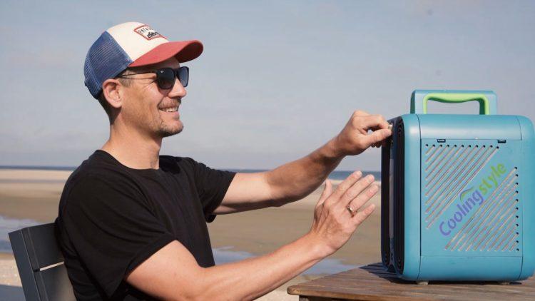 CoolingStyle, un climatiseur portable pour les petites pièces, les tentes et les caravanes