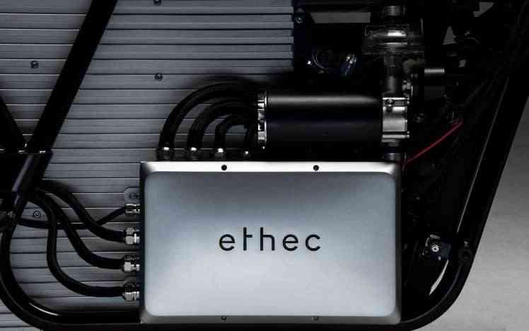 Ethec, la moto électrique design et futuriste
