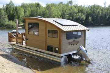 Korok, bien plus qu'une caravane, une tiny house flottante!