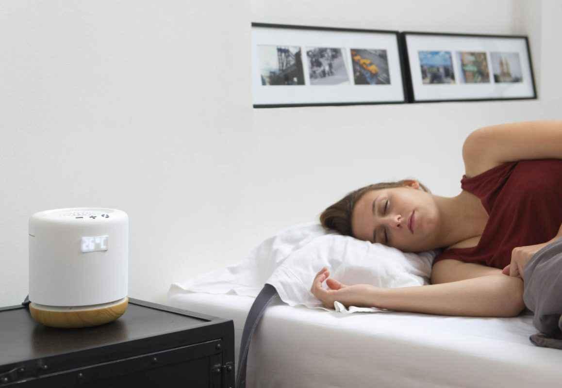 Moona, l'oreiller climatisé et connecté qui aide à mieux dormir