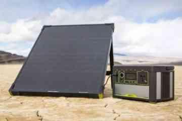 Goal Zero Boulder, le panneau solaire nomade