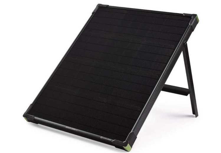 goal zero boulder 50 le panneau solaire nomade neozone. Black Bedroom Furniture Sets. Home Design Ideas
