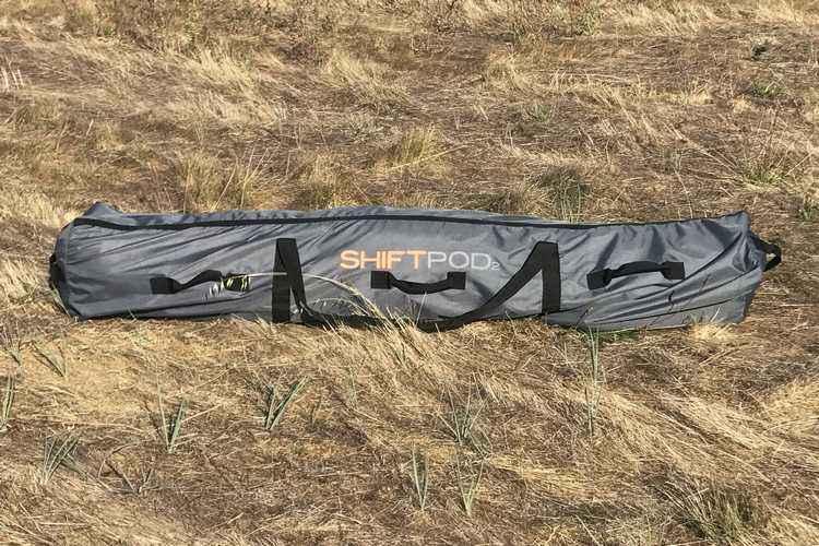 Shiftpod2 réinvente la yourte avec une tente futuriste qui se monte en moins de 20 secondes