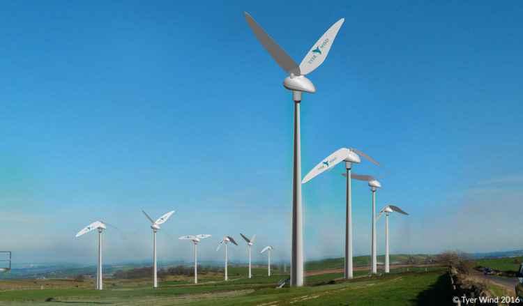 Tyer Wind, l'éolienne qui imite le battement d'ailes des oiseaux pour produire de l'énergie