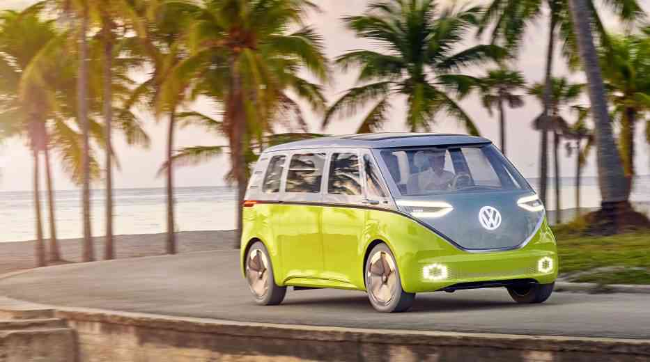 Volkswagen lance l'I.D BUZZ, le combi 100% électrique