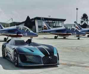 DS Automobile dévoile une vidéo de son concept car asymétrique et futuriste