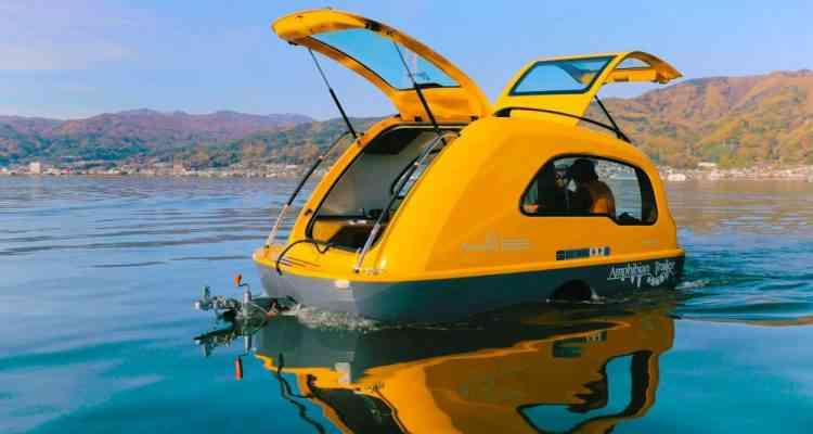 MiniBig, la caravane amphibie japonaise
