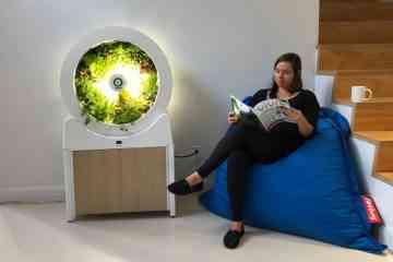 Ogarden, le jardin potager d'intérieur en forme de roue