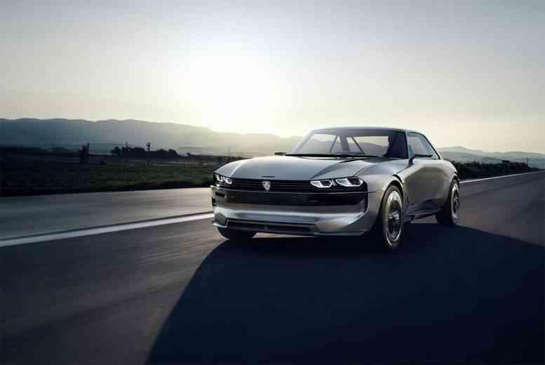 e-Legend, l'étonnant concept car dévoilé par Peugeot