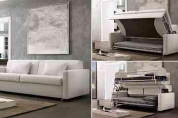 Pozzo Divani : Un ingénieux canapé convertible qui se transforme en lits superposés